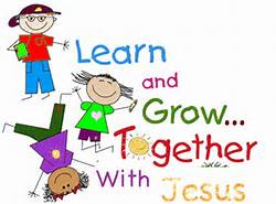 sunday school learn with jesus